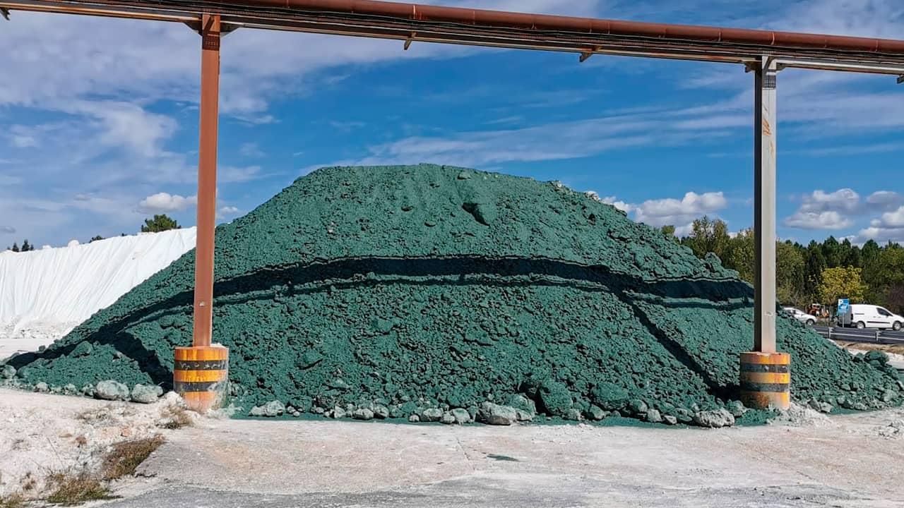 Hydrocovering : Confiner temporairement des matériaux contaminées